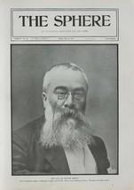 1901 PRINT SIR WALTER BESANT - $77.53
