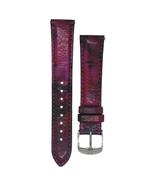 Michele 18mm Twilight Purple Genuine Patent Strap MS18AA430507 CSX Deco ... - $45.89