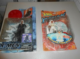 Lot of 2 Marvel X--Men Storm Sealed Action Figures Water Wars & X-Men Th... - $14.85