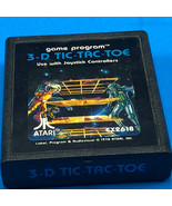1978 ATARI VIDEO GAME vintage arcade gaming electronics cx2618 3-D tic t... - $17.82