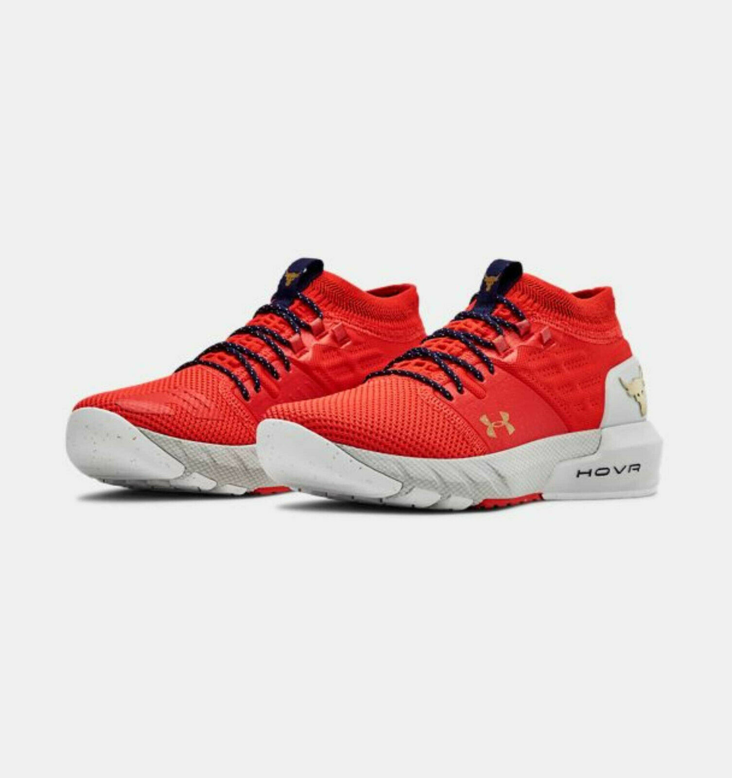 Primary image for Under Armour Womens UA Project Rock 2 Training Shoes 3022398-604 Red NWB