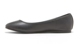 Universal Thread Women's Black Everly Round Toe Slip On Ballet Flats NWT image 2