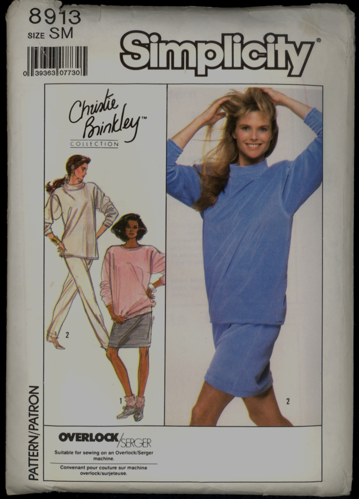Auction 3512 s 8913 christie brinkley sm 1988 front