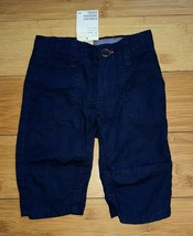Clamdiggers H&M Boys Toddler Navy Soft Cotton Cropped Pants Bottoms 1.5-2 Years - $7.53