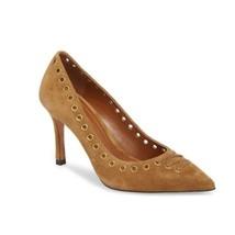 Coach Womens Tan Suede Varick Pump Heels Pointed Toe Sz 9.5 NIB - €163,02 EUR