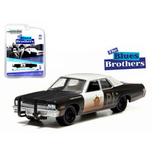 1974 Dodge Monaco Bluesmobile The Blues Brothers (1980) 1/64 Diecast Model Car b - $12.46