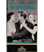 The Asphalt Jungle VHS Jean Hagen Sterling Hayden Marilyn Monroe B&W - $1.99