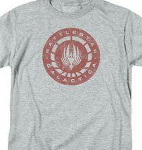 Battlestar Galactica Retro 70s 80s Sci-fi TV series graphic t-shirt BSG291 image 3