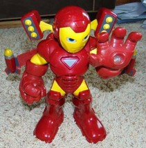 Talking Iron-Man Hasbro Marvel Iron Man with Wings Talking Light Up Chunky Toy - $31.68