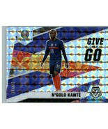 2021 Panini Mosaic UEFA Euro 2020 N'Golo Kante #27 Give and Go Silver Pr... - $1.98