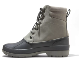 Goodfellow & Co Mens Atley Gray Water Resistant Leather Duck Winter Snow Boots image 2