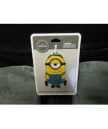 "Hallmark ""Stuart - Minions, The Rise Of Gru"" 2019 Flat Metal Ornament NEW  - $8.86"