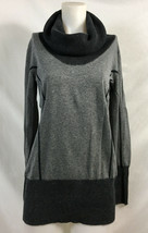 Cache Gray Cowl Neck Thin Knit Sweater, Womens Size L - $25.19 CAD