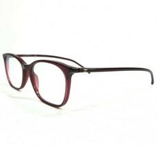 Chanel 3281 c.539 Sunglasses Eyeglasses Frames Round Thin Rim Clear Red 140 - $186.99