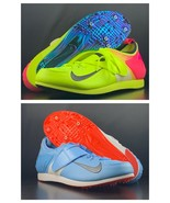 Lot Of 2 Nike Zoom Pro PV Pole Vault Track Shoes 317404-446/999 Men's Si... - $128.69