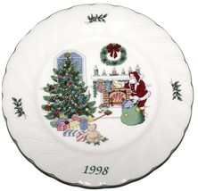 Nikko Happy Holidays 1998 Christmas Collector Plate Japan NEW IN THE BOX - $34.64