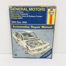 Haynes Repair Manual 1982-1996 General Motors Buick Century Ciera 6000 38005 - $6.99