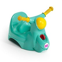 OKBABY Potty seat - Features Scooter Design with Handle Bars - Interactive Sound
