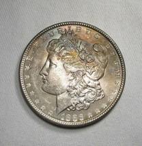 1886-P Silver Morgan Dollar UNC+ Coin AI610 - $53.15