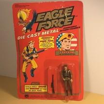 1981 MEGO EAGLE FORCE ACTION FIGURE MOC DIE CAST METAL TOY STRYKER SHARP... - $70.54