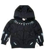 Mad Engine Marvel Black Panther Toddler Boy's Sherpa Lined Fleece Hoodie (3T) - $16.03