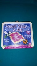 Peanut Butter & Jelly Card Game Tin Lunchbox 2003 Fundex Complete - $25.99