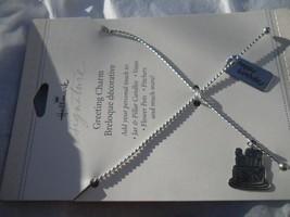 Hallmark Keepsake Signature Birthday Greeting Charms Decoration Tie Ribbon Strap - $15.83