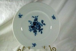 "Hutschenreuther Evensong Blue Rose Dinner Plate 10 3/4"" - $15.93"