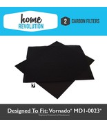 Vornado MD1-0023 Carbon Filters (2 Filters) Fits AC300, AC500 Home Revol... - $13.99