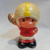 1960's vintage CHALKWARE BANK paint your NFL or team colors gr8 GIFT per... - $47.50