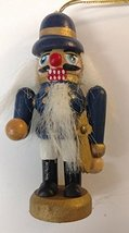 Nutcracker Wooden Ornament (G) - $7.50