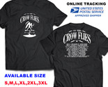 AS THE CROW FLIES 2018 TOUR DATE A1 BLACK T-SHIRT S-3XL SIZES AVAILABLE NEW