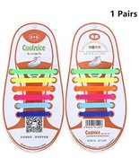 Silicone ShoelacesThe Elastic Tie-free And Wash-free For Children?colorful) - $15.35