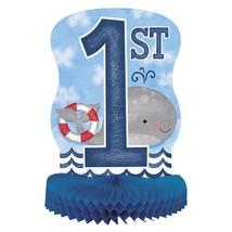 "Nautical 1st Birthday Centerpiece Honeycomb 14"" - $5.22"
