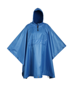 USGI Industries Military Style Multi-Use Rip Stop Rain Poncho (Arctic Blue) - $34.64