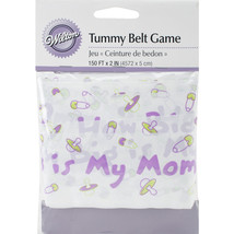 """Baby Shower Tummy Belt 2""""X150'- , Set Of 3"" - $16.14"
