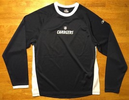 NFL Team Reebok Apparel San Diego Chargers Long Sleeve Shirt Size Large 14 / 16 - $9.99