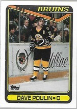 1990-91 TOPPS NHL-#362-Dave Poulin-Bruins-Center - $4.16