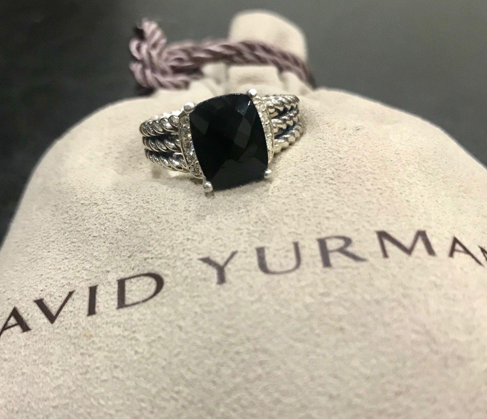 b7fb0d06ac86f David Yurman Ring Petite Wheaton Black Onyx and 40 similar items. 57
