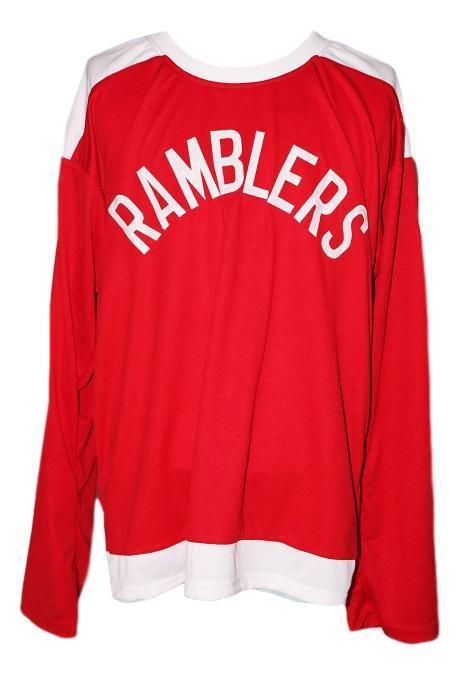 Custom   philadelphia ramblers retro hockey jersey red   1