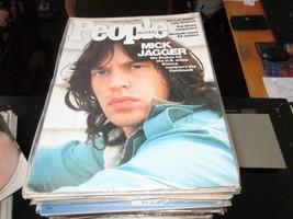 People Magazine , Mick Jagger , 6/9/75 , Nameth , Lee Salk , Pat Nixon - $35.00