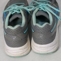 Asics Gel-Contend 4 Ortholite Sneakers Shoes Mesh Women Size 7 Gray Blue T767Q image 3