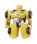 Transformers Playskool Heroes Rescue Bots Academy Bumblebee Converting Toy Robot - $21.55