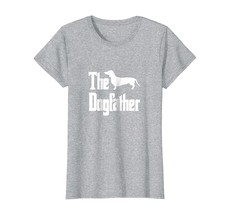 Dog Fashion - The Dogfather t-shirt Dachshund silhouette funny dog gift ... - $19.95+