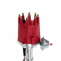 Pro Series R2R Distributor for Cadillac 368 425 472 500, V8 Engine Red Cap image 2