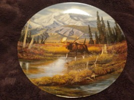 Pretty Mountain Monarch Alaska Moose Plate - $23.36