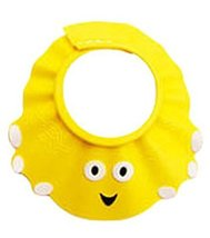 The Creative Cartoon Children's Bath Cap/Shower Hat Can be Adjusted Yellow
