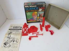 VTG REMCO 1972 BILLY WIZARD SCIENCE LAB JET PROPULSION #412 COMPLETE 3 E... - $14.69