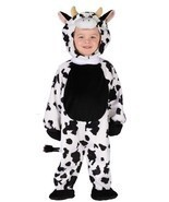 Fun World Tenero Mucche Tuta Capanno Animale Bambini Costume Halloween 1... - $29.39