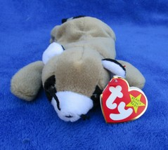 Ty Beanie Baby Ringo Raccoon 1995 4th Generation Hang Tag PVC Filled - $6.92